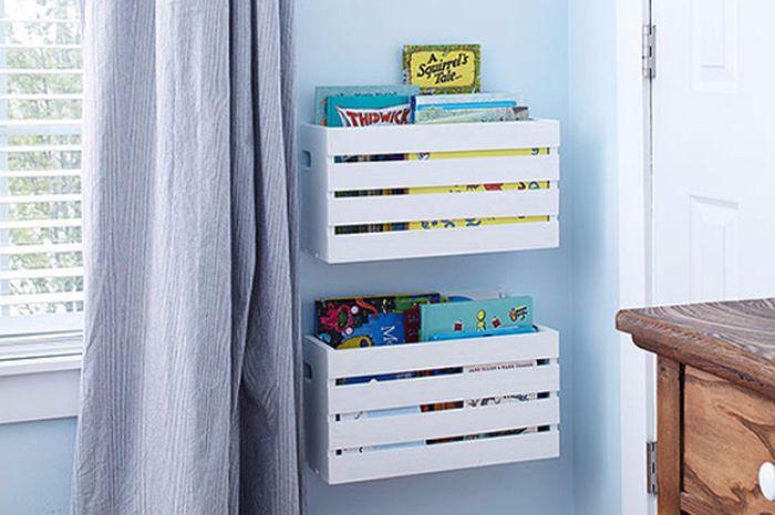 Merapikan kamar anak jadi masalah sendiri bagi orang tua.