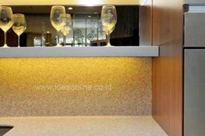 Memilih Pelapis Dinding Dan Meja Dapur Yang Tepat