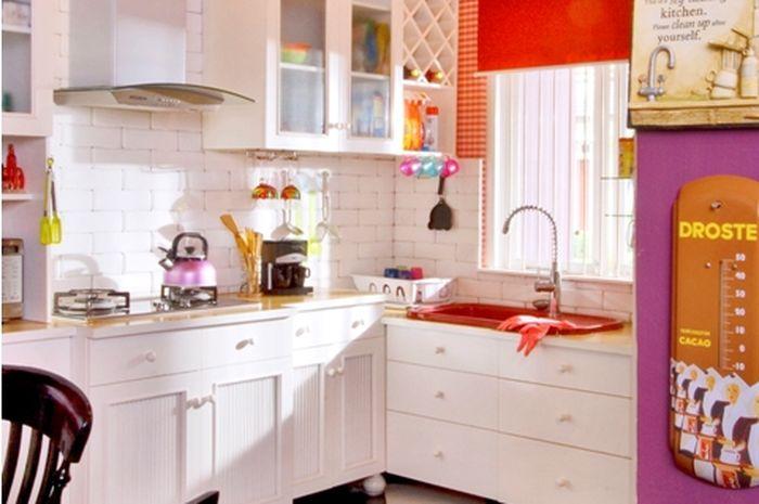 Penataan Keramik Di Dapur Yang Cantik