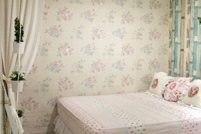 Romantis Desain Kamar Tidur Bergaya Shabby Chic Ini Layaknya Kamar Tidur Pengantin Idea