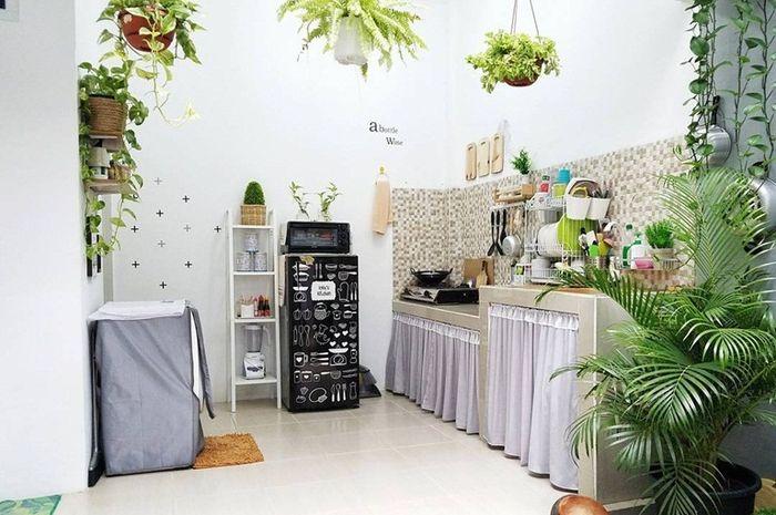 Inspiratif, Begini Ademnya Desain Dapur 2,8m x 2,7m yang ...