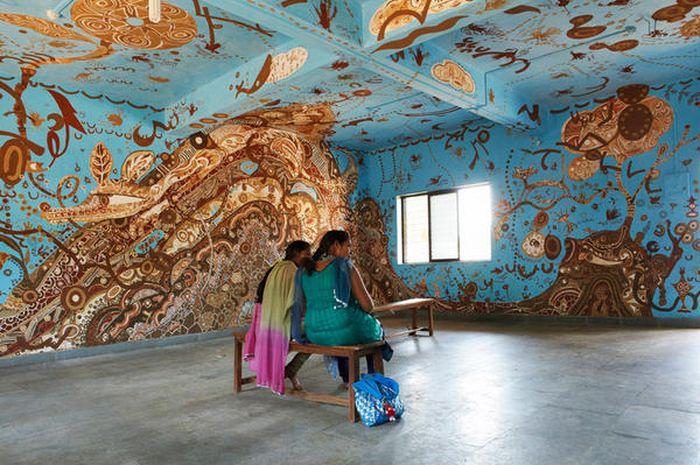 Lukisan Mural Indahkan Ruang Kelas Semua Halaman Idea