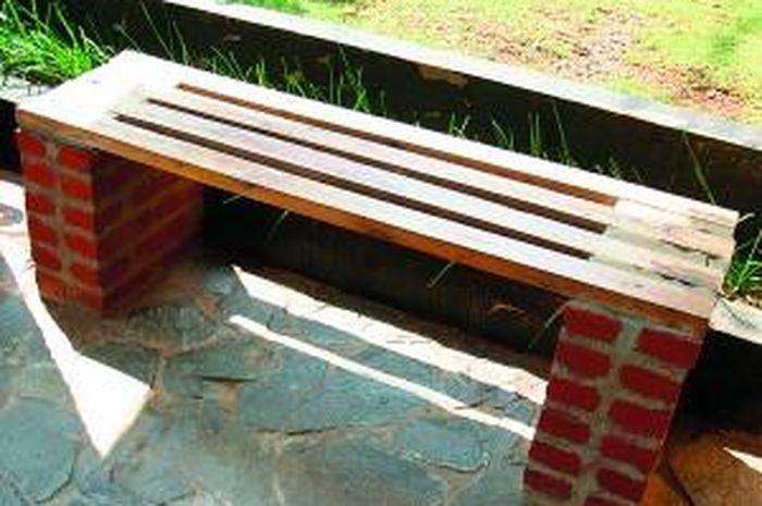 830+ Desain Bangku Taman Beton Terbaru