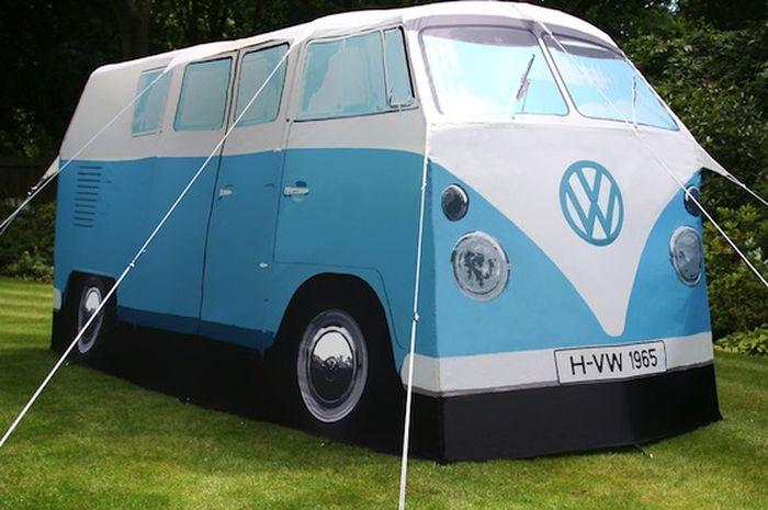 Vw Camper Van >> Nyaman Berkemah Dengan Vw Camper Van Tent Idea