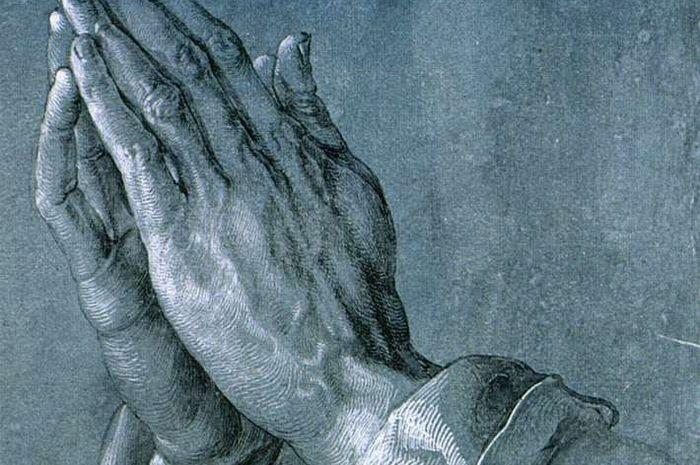 Kisah di Balik Tangan Berdoa Semua Halaman Intisari