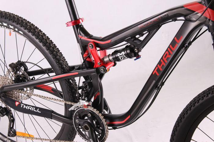 Thrill Ricochet Sepeda MTB Full Suspension Untuk Eksplorasi Pengalaman Bersepeda Yang Lebih