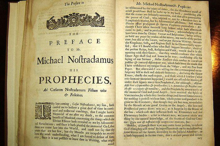 Ramalan Nostradamus pada 2017