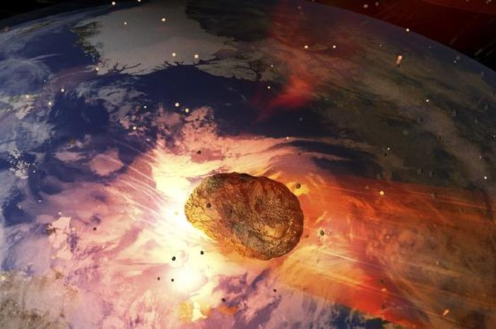 Asteroid besar akan menghantam bumi
