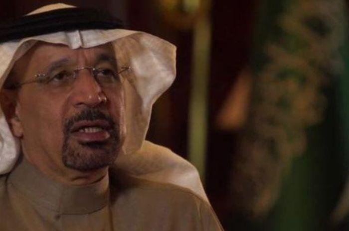 Menteri Perminyakan Arab Saudi, Khald al-Falih.