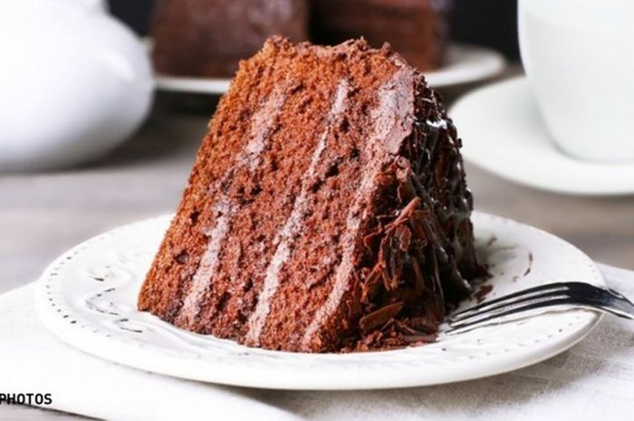 Kue cokelat baik dikonsumsi pada sarapan