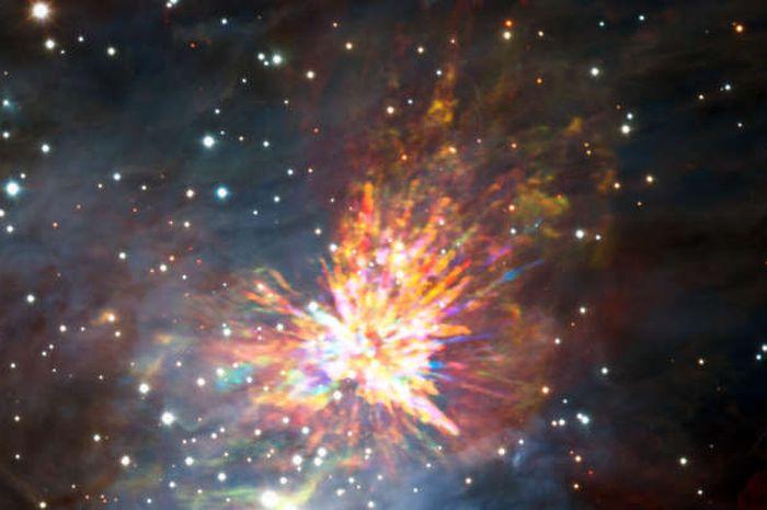 Ledakan yang menghasilkan bintang