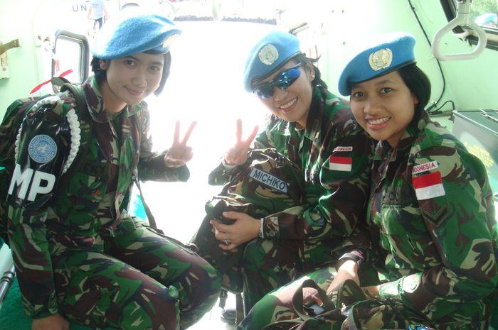 Pasukan PBB TNI Wanita di Lebanon