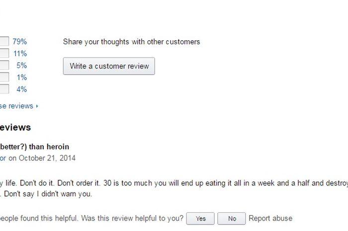 Komentar lucu Indomie di Amazon