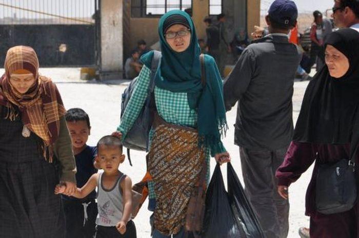 WNI yang sempat tinggal di ibu kota ISIS