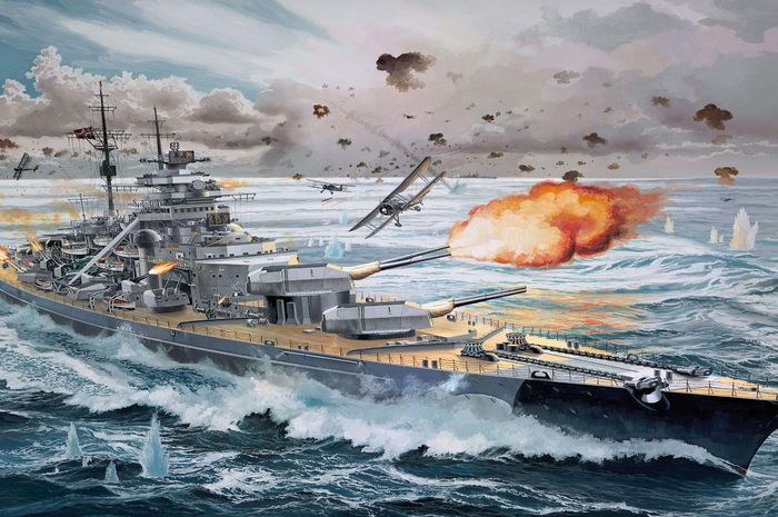 Kapal perang Nazi Bismarck