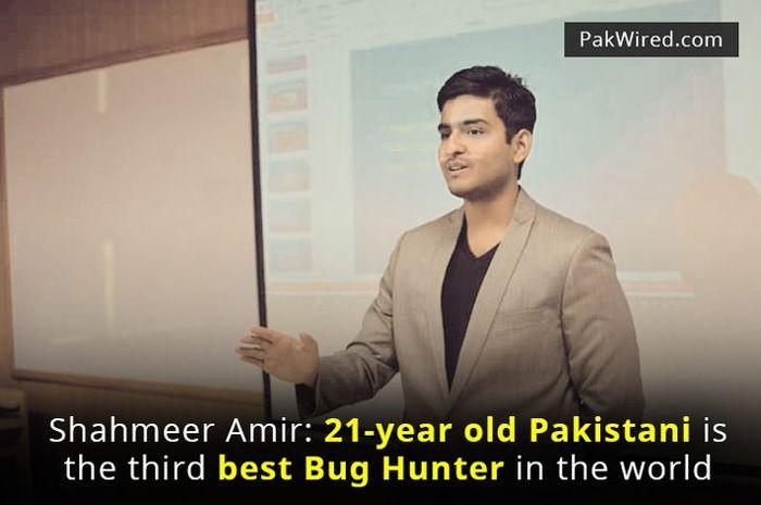 Shahmeer Amir, pria asal Pakistan yang pernah hack 400 website termasuk Google, Facebook, dan Microsoft