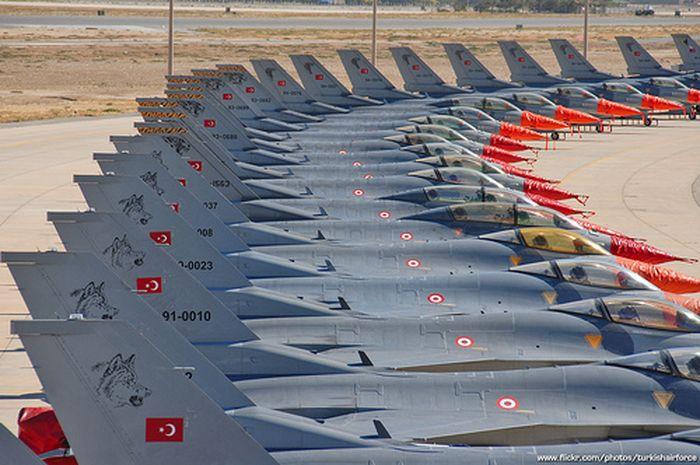 Angkatan Udara Turki yang terkenal kebesarannya