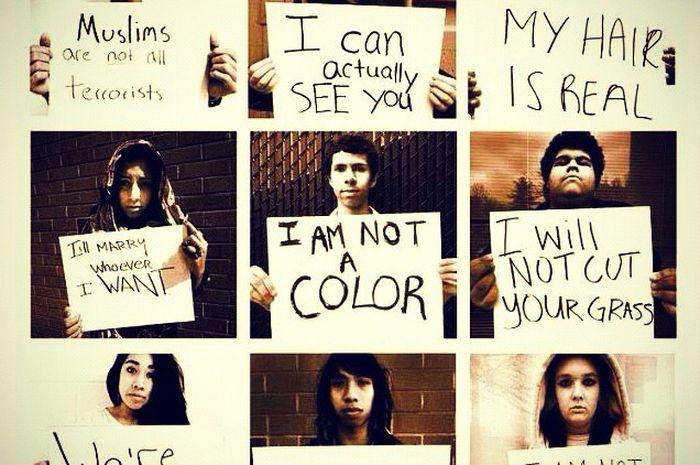 Yakinlah diskriminasi bisa dihilangkan