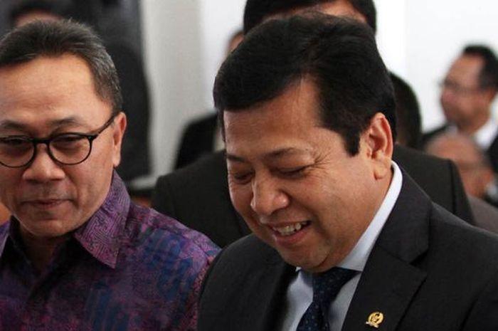 Setya Novanto ditetapkan sebagai tersangka korupsi e-KTP