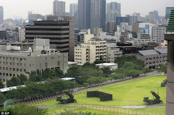 Rudal Patriot digelar di Tokyo