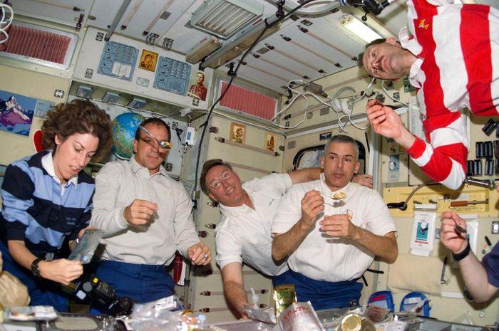 Fakta mengejutkan tentang makanan di angkasa luar