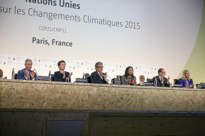 Konferensi perjanjian iklim ke-21.