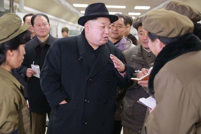 Kim Jong-Un Presiden Korea Utara