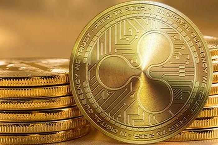 Rippley tandingan bitcoin.