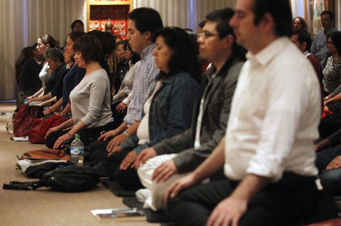 Dengan meditasi kita dapat menunda penuaan