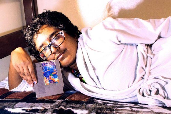 Fractal yang memutuskan menikahi Tetris