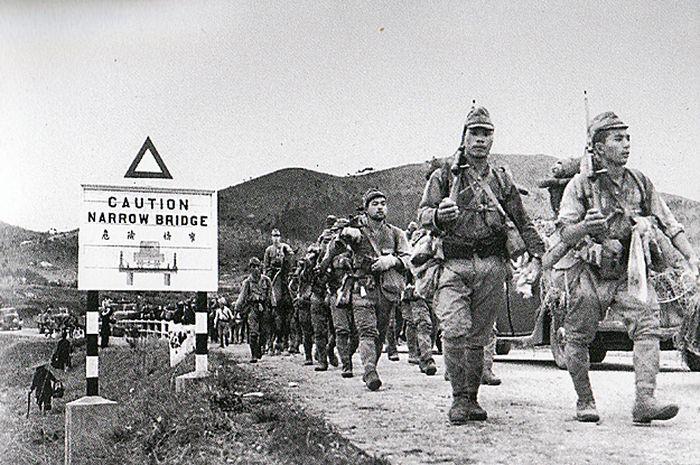 Serbuan pasukan Jepang di Semenanjung Malaya