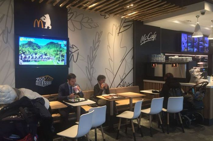 Video pariwisata Indonesia di McDonalds Jerman