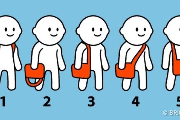 Mana cara Anda membawa tas?