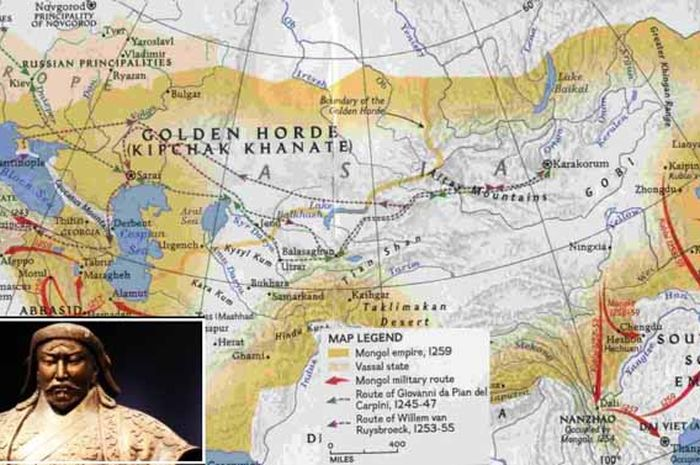 Wilayah kekaisaran Mongol