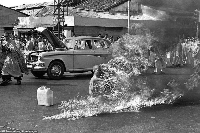 Demonstrasi mematikan tahun 1963 di Vietnam