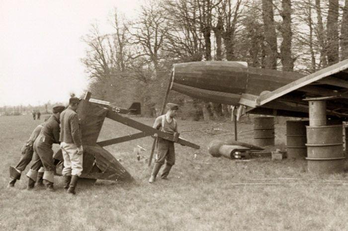 Pesawat kayu milik NAZI