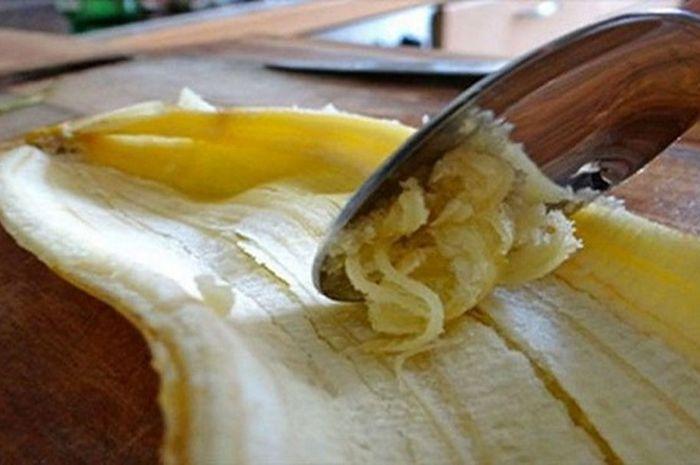 Manfaat kulit pisang untuk kecantikan