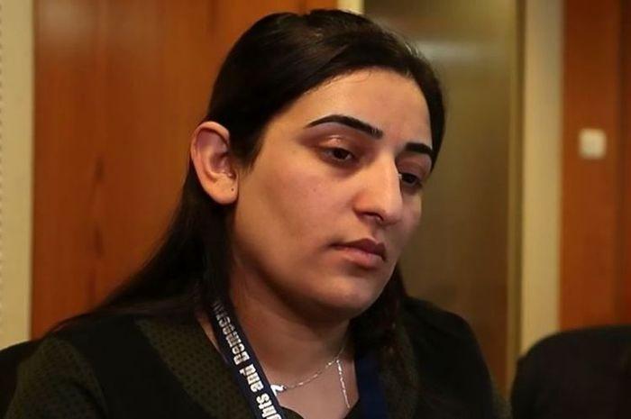 Farida Abbas Khalaf, perempuan etnis Yazidi yang sempat menjadi budak seks anggota ISIS.