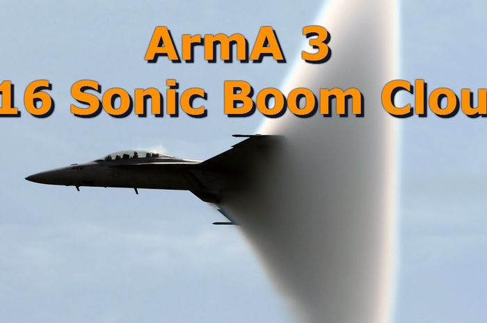Sonic Boom F-16