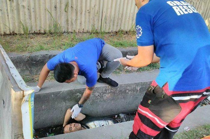 Seorang pria Filipina sempat dikira tewas