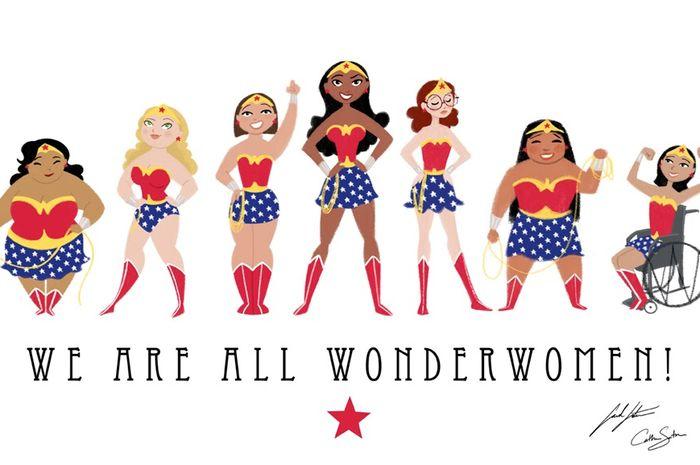 Semua wanita itu wonder women