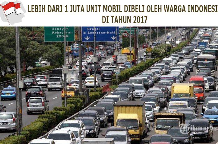 Indonesia masih menjadi negara ASEAN dengan konsumsi mobil paling banyak di tahun 2017