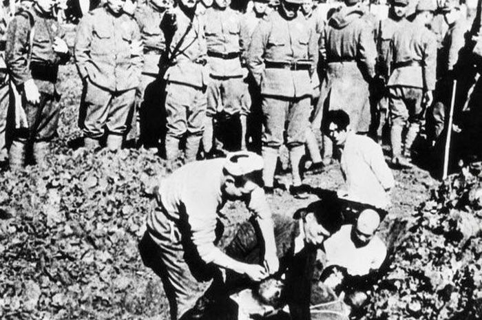 Persiapan uji senjata biologi kepada para tawanan Jepang pada Perang Dunia II