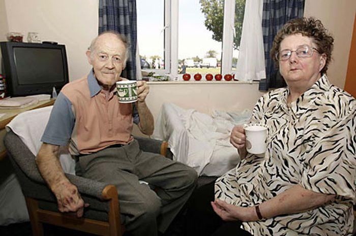 David Davidson dan istrinya, Jean.