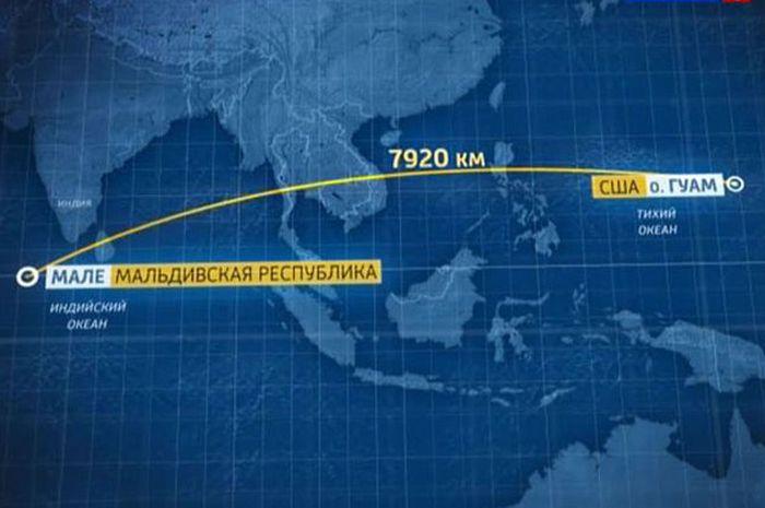 Jalur penerbangan rahasia CIA saat melintasi Indonesia
