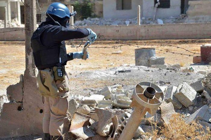 Serangan senjata kimia di Ghouta Suriah
