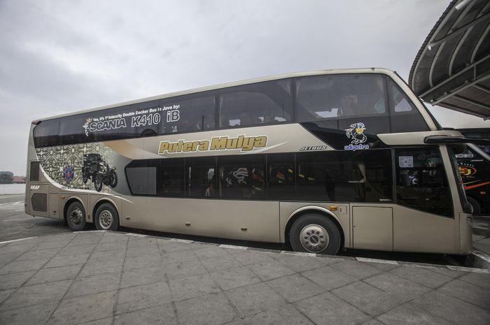 Bus malam yang lebih mewah dari pesawat.
