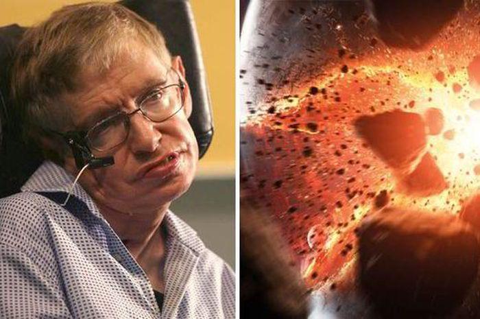 Stephen Hawking bicara mengenai isu kiamat yang dipicu Partikel Tuhan