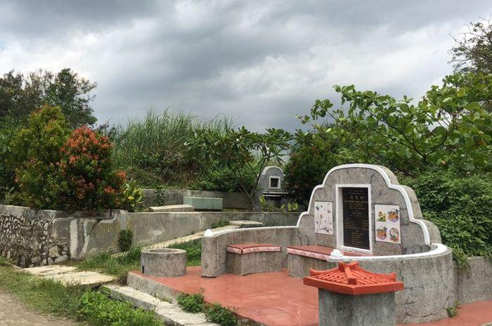 Makam orang Tionghoa berukuran berbeda-beda