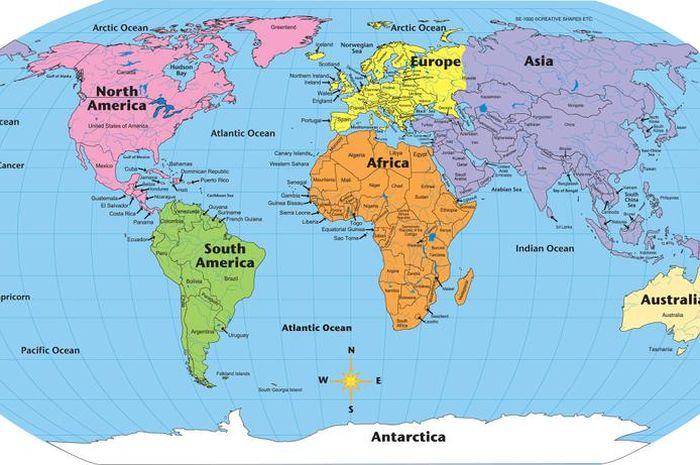 55+ Gambar Peta Dunia Paling Keren
